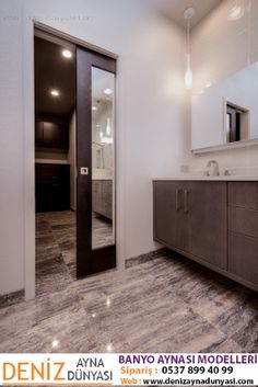 HighCraft Builders Master Bath Remodel With Mirrored Pocket Door. 3 Foot  Wide Door Way Separates The Master Bathroom From The Walk In Closet, Slides  In And ...