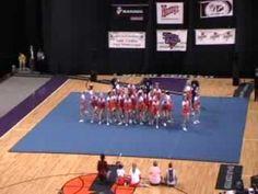 Mauldin High School Cheerleading 08-09 at STATE