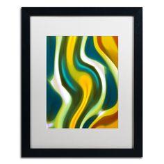 'Forest Stream 1' by Amy Vangsgard Framed Graphic Art