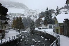 Andermatt, Switzerland-- cutest town ever Places Ive Been, Places To Go, Andermatt, Snowshoe, Wonderful Places, Snowboard, Switzerland, Travel Inspiration, Skiing