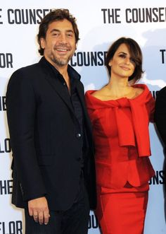 Javier Bardem and Penélope Cruz at event of The Counselor (2013)