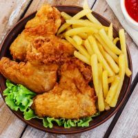juicy crunchy chicken wings that works great as a dinner or appetizer