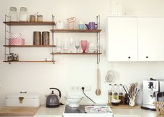 At home with Antonia Osswald - nice kitchen | A Beautiful Mess