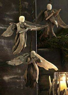 Driftwood angels .. :) <3