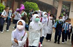Sekolah di Johor diarah tutup pada 30 September 2015 kerana Jerebu 2015 masih teruk