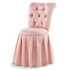 pink vanity chair dining leather seat replacement 583 best images chairs furniture slipper by leigh lt gt kaboodle bedroom
