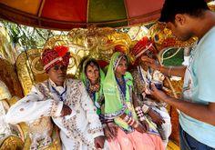Hochzeit in Weiß  (29.05.16)   Make-up für den Bräutigam in der Pferdekutsche:...