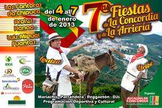 Fiestas de la Concordia y la Arriería, Concordía, Antioquia, Colombia, 2013