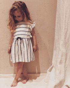 .. little white striped dress ✨ Thanks for sharing!! 💛 @mybarbapapi 😘 #buhobcn #loveharmony #ss18collection #softlinen #stripeslovers…