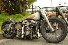 Shovelhead   Bobber Inspiration - Bobbers and Custom Motorcycles   saltadkaramell September 2014
