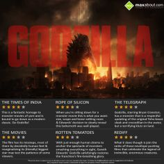 Godzilla- 3d Movie review