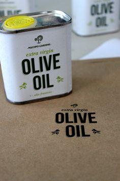 Olive Oil for Piscopo Gardens by Steves , via Behance