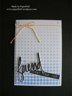 Altenew Halftone stencil, Label Lve stamps and Super Script stamps and dies