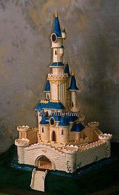 Castle cake #birthdayparty