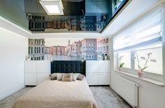 furnishing ideas bedroom mural landscape mirrored ceiling carpet
