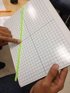 Linear Equations with pipe cleaners