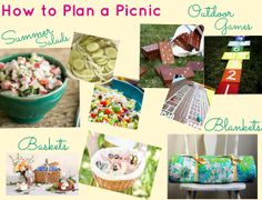 How to Plan a Picnic: Summer Picnic Ideas, Inspiration and Picnic Food Ideas | AllFreeHolidayCrafts.com