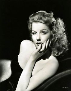 Ann Sheridan. One of my favorite actresses.
