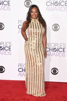 Keke Palmer, Nia Long, Shemar Moore and Mike Epps were just a few of the stars that lit up the 2016 People's Choice Awards Red Carpet. Leslie Mann, Portia De Rossi, Ed Westwick, Nia Long, Carly Rae Jepsen, Taylor Kinney, Tyler Posey, Meghan Trainor, Keke Palmer