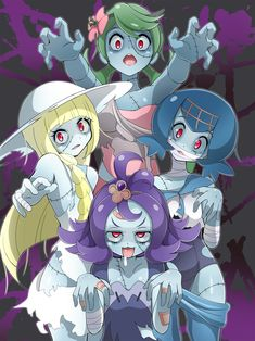 Pokemon x Zombie Land Saga Pokemon Gif, Sexy Pokemon, Pokemon Moon, Pokemon Comics, Pokemon Memes, Pokemon Fan Art, All Pokemon, Cute Pokemon, Pokemon Eeveelutions