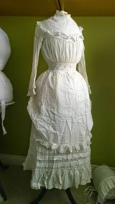 All The Pretty Dresses: Late Natural Form Era Young Miss Dress