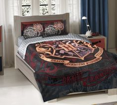 Hogwarts bedspread
