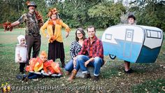 Coolest Homemade Costumes for DIY Costume Enthusiasts Homemade Halloween Costumes, Halloween Costume Contest, Costume Ideas, Halloween Camping, Fall Halloween, Halloween Wreaths, Halloween 2019, Halloween Ideas, Halloween Decorations