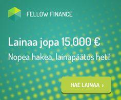 Fellow Finance | Fiksua Lainaa 500-15 000€ Fellow Finance Vertaislainapalvelusta!