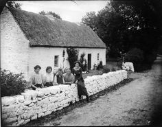 Taken sometime during the late 1800s with a glass plate camera. It is somewhere in County Leitrim, Ireland.