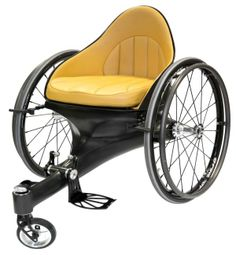 Spyker sports car designer brings brand's feel to wheelchair