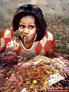 ~~In an interview at the convention~~ Michelle Obama Hopes To Take Over Grocery Stores In Next Four Years - Controlling the food supply - like a good socialist dictator!