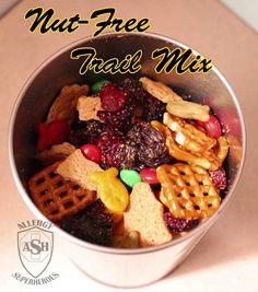 Nut-Free Trail Mix | Allergy Superheroes Blog