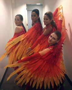 Costumes I did for Canada Philippines Fashion week as a part of an Adarna Bird Dance.