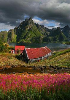 Landscape in Norway -
