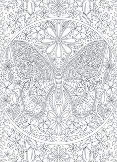 Calyspo Coloring Card - Butterfly Mehr