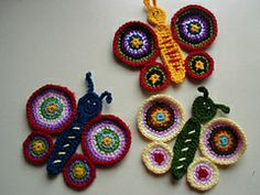 Ravelry: Butterfly applique pattern by The Hobbyhopper
