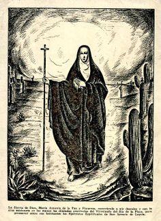 La Mujer Apóstol del Virreinato,  MARIA ANTONIA DE PAZ Y FIGUEROA,  sus cartas eran traducidas a más de cinco lenguas.