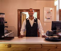 South Africa's first blind barista has found his peace