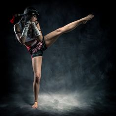 Muay Thai - Visit CageCult for more and inspired fashion designs and accessories for fighters and fight fans: Muay Thai Martial Arts, Martial Arts Women, Mixed Martial Arts, Mma, Taekwondo, Jiu Jitsu, Karate, K1 Kickboxing, Kickboxing Women