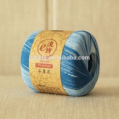 Cotton and lurex blended space dyed lace yarn, View cotton and lurex yarn, Lucky Weaver Product Details from Jiangsu Haite Fashion Co., Ltd. on Alibaba.com Hand Knitting Yarn, Yarn Projects, China, Detail, Lace, Cotton, Colors, Fashion, Moda