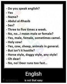 Englisch ist nicht so einfach - Win Bild