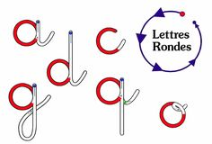 Form the letters of the alphabet to the PC and Kindergarten