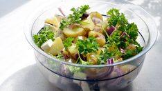 No offense to grandma, but her potato salad is a bit old-school. Shake up your spuds with three organic potato salad recipes. Salmon Recipes, Fish Recipes, Seafood Recipes, Healthy Recipes, Paleo Meals, Warm Potato Salads, Fresh Potato, French Potato Salad, Feta Cheese Recipes
