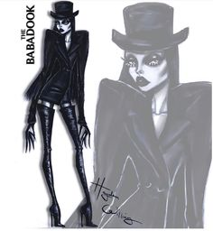 T H E B A B A D O O K @hayden_williams #HauntCouture #Fashionillustrations |Be Inspirational ❥|Mz. Manerz: Being well dressed is a beautiful form of confidence, happiness & politeness