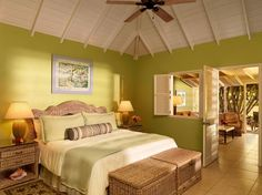 # 42.  Nisbet Plantation Beach Club, Nevis  Readers' Choice Rating: 95.8    Rooms: 96.1  Service: 97.5  Food: 97.5  Location: 96.6  Design: 96.6  Activities: 90.5