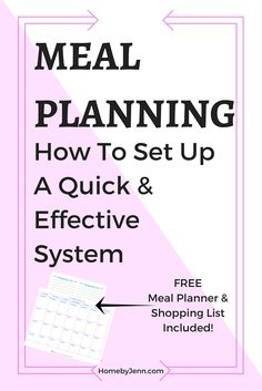 I show you step by step the easiest way to set up a weekly menu. You will stay so organized and ready to head to the grocery store with a plan. Say goodbye to the days of not having a plan. This also comes with a FREE meal planner and shopping list. Free Meal Planner, Meal Planner Printable, Weekly Menu Boards, Planning Menu, Recipe Organization, Organization Ideas, Menu Planners, Healthy Food Options, Easy Food To Make