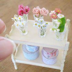 2017, Miniature flowers ♡♡ by pansbear