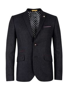 Cersee Wool Blend Casual Blazer