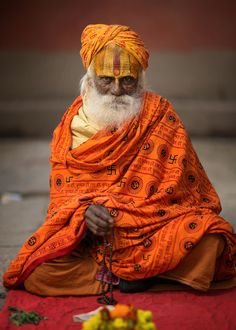 Meditation by Mark Scott on We Are The World, People Around The World, Images Of Faith, Live Action, Indian Man, Cultural Diversity, First Humans, Varanasi, Hinduism