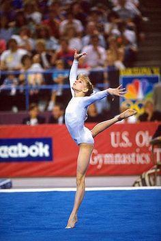 Shannon Miller, I remember meeting her at International Gymnastics Camp.